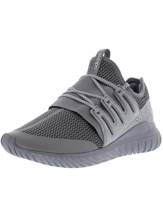 Adidas barbati Tubular Radial Charcoal Solid Grey / Ankle-High Fabric Fashion Sneaker