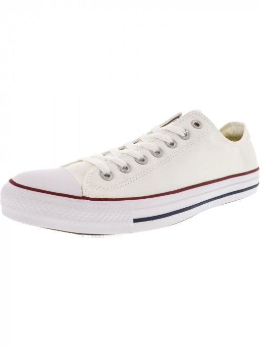 Converse All Star Ox Optical White / Ankle-High Fashion Sneaker foto mare
