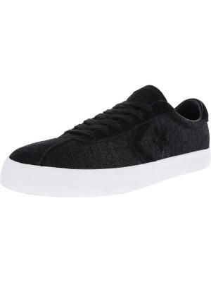 Converse Breakpoint Ox Black / White Ankle-High Fashion Sneaker foto
