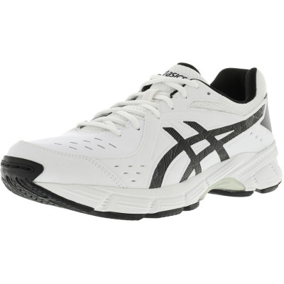 Asics barbati Gel-195Tr White / Black Silver Ankle-High Running Shoe foto