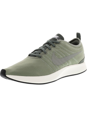 Nike barbati Dualtone Racer Se Dark Stucco / River Rock Ankle-High Running Shoe foto