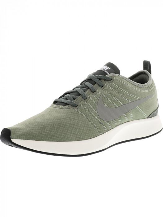 Nike barbati Dualtone Racer Se Dark Stucco / River Rock Ankle-High Running Shoe foto mare
