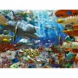 Puzzle minunile oceanului 3000 piese, Ravensburger