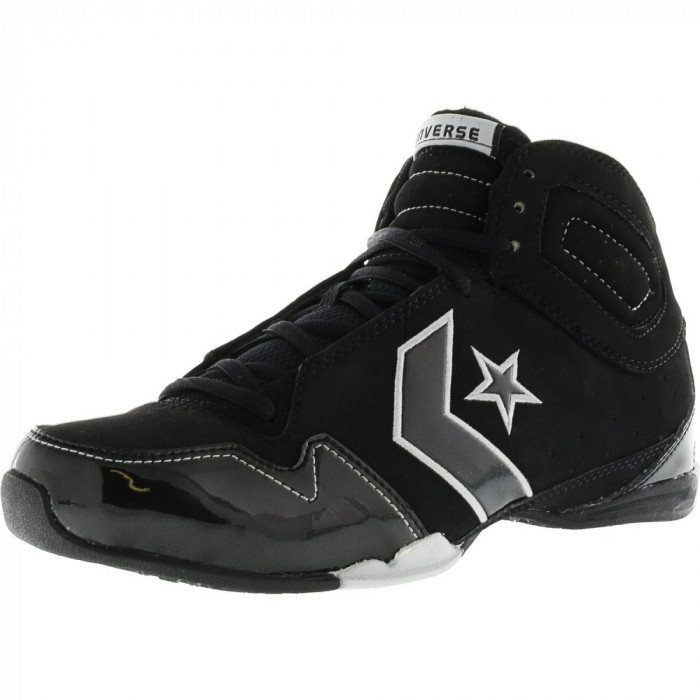 Converse barbati Special Ops Mid Black / Highway Ankle-High Fashion Sneaker