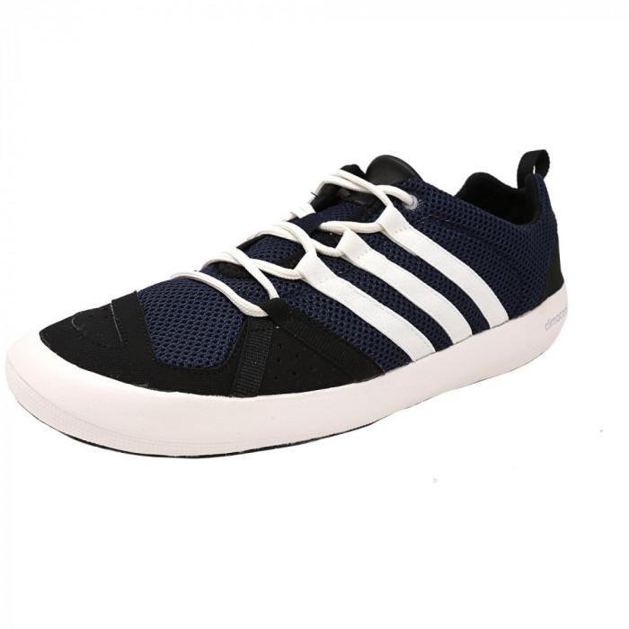 Adidas barbati Climacool Boat Lace Collegiate Navy / Core White Black Ankle-High Fashion Sneaker