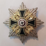 WW2-CRUCEA DE FIER-MARE STEA-ORDIN PENTRU CIVILI-REPLICA FRUMOASA