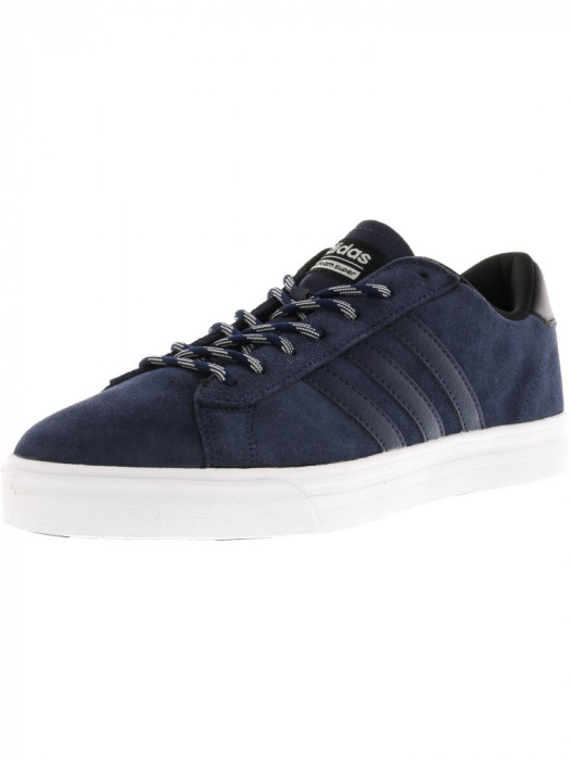 Adidas barbati Cf Super Daily Collegiate Navy / Black Ankle-High Suede Running Shoe