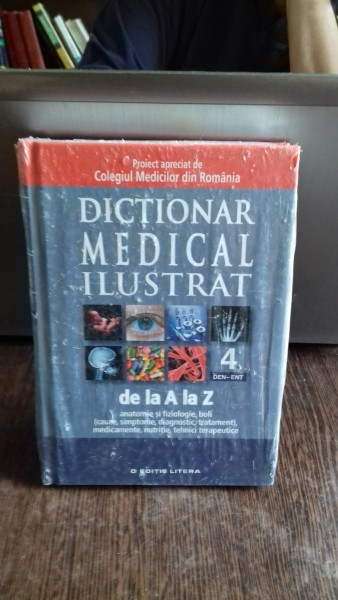 DICTIONAR MEDICAL ILUSTRAT DE LA A LA Z, VOL IV