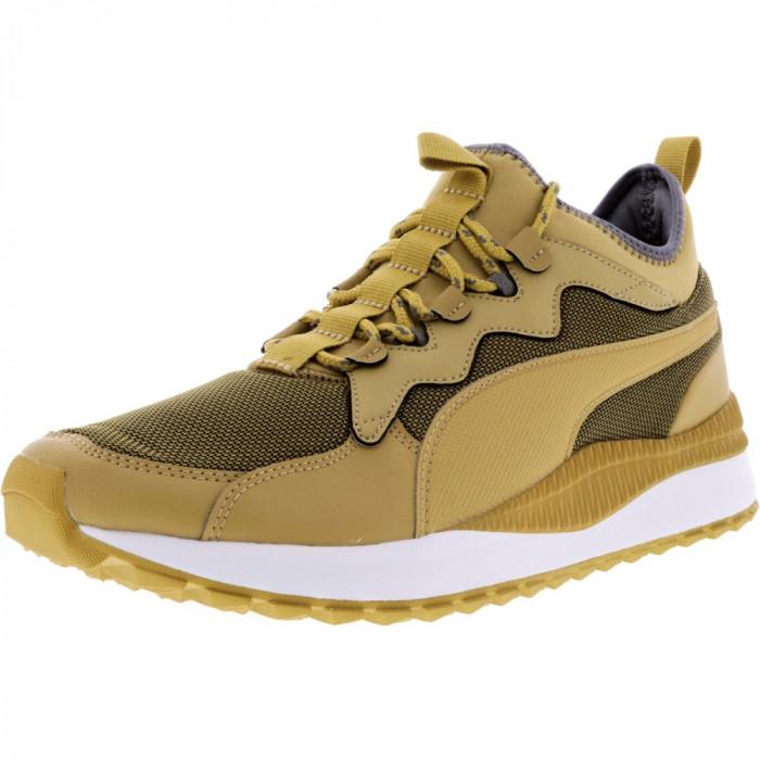 Puma barbati Pacer Next Mid Sb Taffy-Taffy Ankle-High Fashion Sneaker foto mare