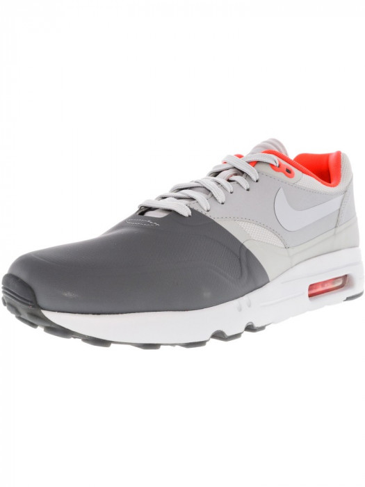 Nike barbati Air Max 1 Ultra 2.0 Se Dark Grey / Wolf Low Top Walking Shoe foto mare