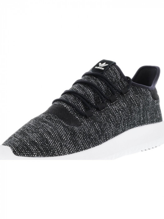 Adidas barbati Tubular Shadow Core Black / Utility Vintage White Ankle-High Running Shoe foto mare