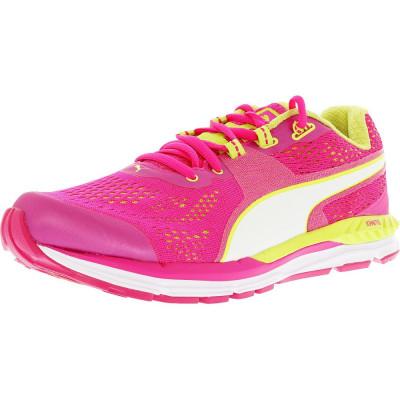 Puma barbati Speed 600 Ignite Pink Glo/Sharp Green/White Ankle-High Running Shoe foto