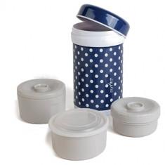 Termos Inox Mancare Solida 1200 ml, Nuvita