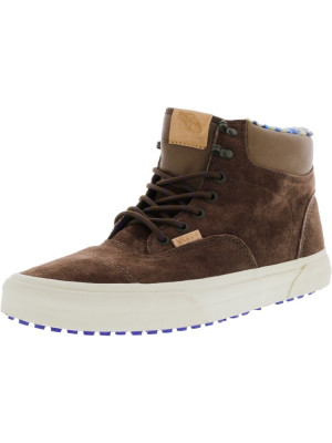 Vans barbati Era Hiker Mte Ca Pig Suede / Fleece Carafe High-Top Snow Sneaker foto