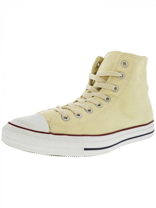 Converse All Star Hi Natural White Ankle-High Fashion Sneaker foto mare