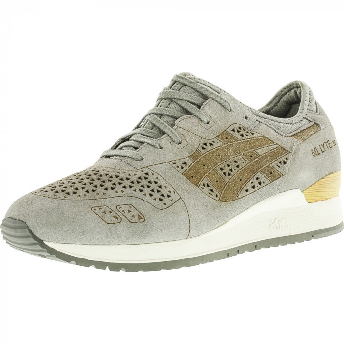 Asics barbati Gel-Lyte Iii Lc Light Grey / Ankle-High Fashion Sneaker foto mare