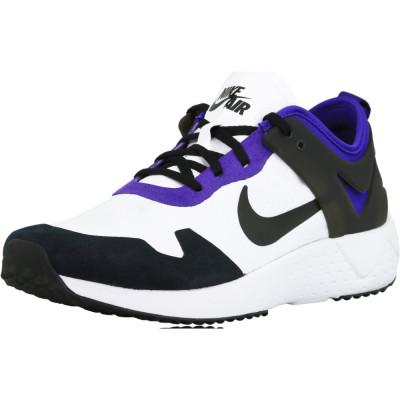 Nike barbati Zoom Lite White / Black-Court Purple-Bright Citrus Ankle-High Cross Trainer Shoe foto
