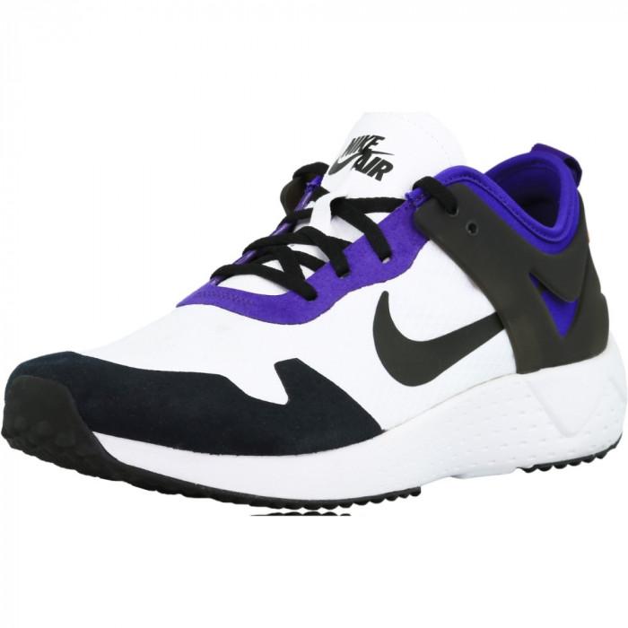 Nike barbati Zoom Lite White / Black-Court Purple-Bright Citrus Ankle-High Cross Trainer Shoe