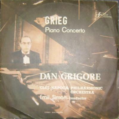 Edvard GRIEG: Concertul pentru pian si orchestra in La minor, Op 16 (disc vinil) foto