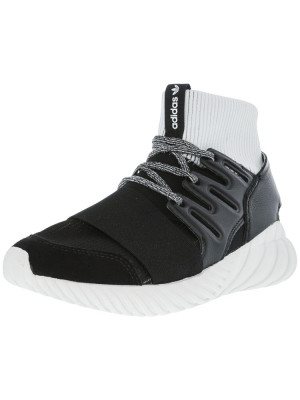 Adidas barbati Tubular Doom Core Black / Footwear White High-Top Fashion Sneaker foto