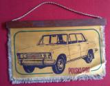 ACR -  Fanion AUTO 1974 POLSKI FIAT