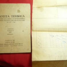 Notita Tehnica- pt folosirea Masinii Stropitoare-Prafuitoare MSP -8,0 -1957 Icar