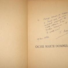 Ochii maicii domnului 308pagini- T. Arghezi semnatura dedicatie