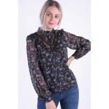 Camasa Florala Vero Moda Rose Lace Negru, L, M, S, XL