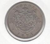 Romania - 1 Leu 1881 - De colectie