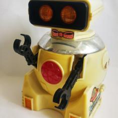 Robot spatial  Taikongren 20, jucarie veche China, anii 80, 18 cm