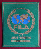 FILA - JUGE - ARBITRU INTERNATIONAL Emblema - matricola - ECUSON