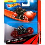 Tranz-Blaster cu motociclist - Hot Wheels, Mattel