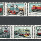 Romania.1987 Locomotive  YR.839, Nestampilat