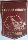 FEDERATIA ROMANA DE AUTOMOBILSM - ACR - RALIUL DUNARII 1978  Fanion