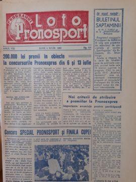 Programe Loto anii 1960 -14 in total unul din anul 1957 foto