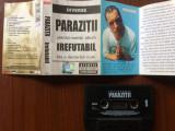 Parazitii irefutabil album caseta audio muzica rap hip hop NRG!A rebel music, Casete audio