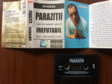 Parazitii irefutabil caseta audio muzica thug rap hip hop NRG!A rebel music 2002, Casete audio