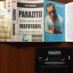 parazitii irefutabil caseta audio muzica thug rap hip hop NRG!A rebel music 2002