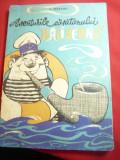 A.Nekrasov - Aventurile Capitanului Baliverna - Ed. Tineretului 1968 , ilustrata