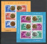 Romania.1984 Medalii olimpice LOS ANGELES-Bl.   YR.781