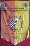 FEDERATIA ROMANA DE AUTOMOBILSM - ACR - RALIUL DUNARII - TULCEA 1982  Fanion