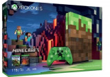 Consola Microsoft Xbox One S 1TB Minecraft Limited Edition Console + Cod de descarcare