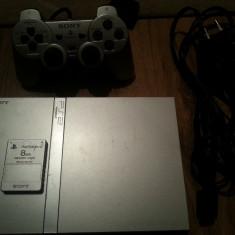 Playstation 2 ps 2 ps2 play station 2 SONY modat + joc GTA  GranTheft Auto