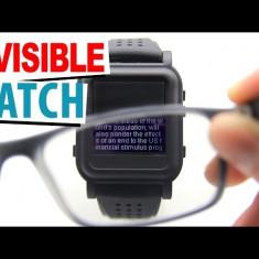 Sistem invizibil pentru copiat la examen; ceas invizibil ceas copiat cu ochelari