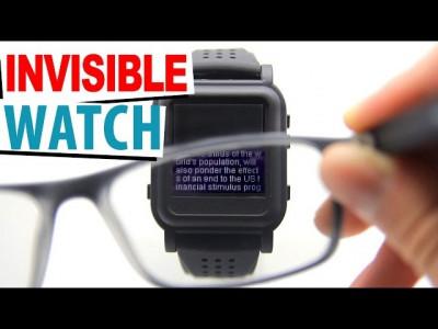 Sistem invizibil pentru copiat la examen; ceas invizibil ceas copiat cu ochelari foto
