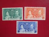 ANGLIA ST HELENA SERIE NESTAMPIPALA 1937, Nestampilat