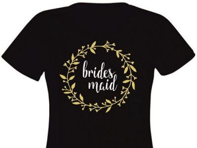 Tricou personalizat pentru domnisoare de onoare EM1103_D foto