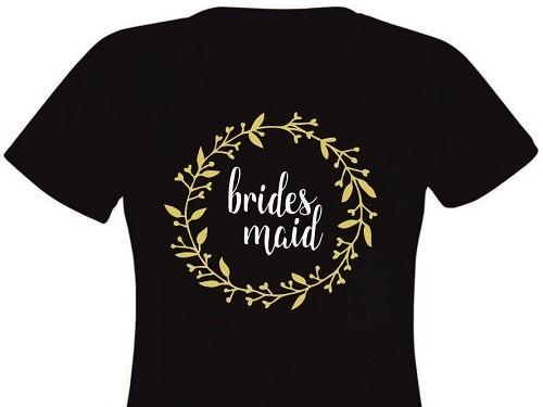 Tricou personalizat pentru domnisoare de onoare EM1103_D