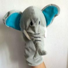 Marioneta teatru de papusi papusa manuala, elefant