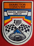 FEDERATIA ROMANA DE AUTOMOBILSM - ACR - RALIUL DUNARII SIBIU 1983, Emblema